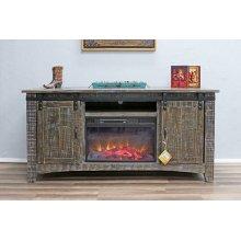 Barn Wood Fireplace