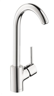 Chrome Kitchen Faucet, 1-Spray, 1.5 GPM