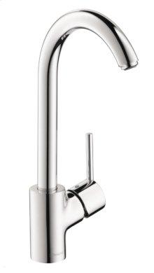 Chrome Kitchen Faucet, 1-Spray, 1.5 GPM