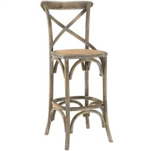 Gear Bar Stool in Gray