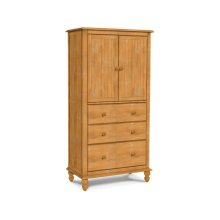 Cottage 3 Drawer Armoire