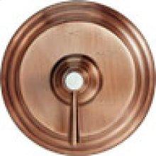 Antique Copper Diverter/Flow Control Handle