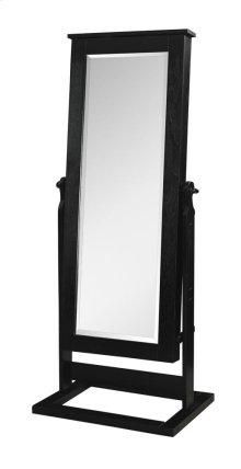 Black Cheval Mirror