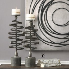Zigzag, Candleholders, S/2