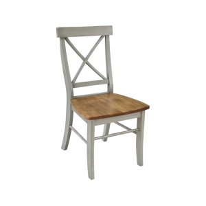 JOHN THOMAS FURNITUREX-Back Chair in Hickory Stone