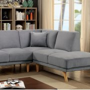Hagen Sectional, Gray Product Image