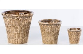 Hedgerow Cachepot - Set of 3