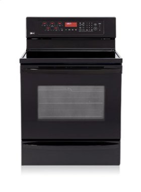Freestanding Electric Range with Dual Convection System