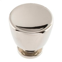Conga Knob 1 1/4 inch - Polished Nickel