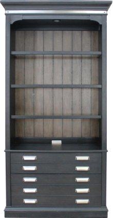 "40"" Open Bookcase"