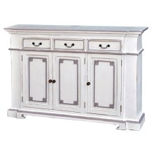 3 Door Narrow Sideboard