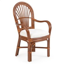 Dining Arm Chair Pecan Glaze 5510