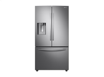 23 cu. ft. 3-Door French Door, Counter Depth Refrigerator with CoolSelect Pantry in Stainless Steel