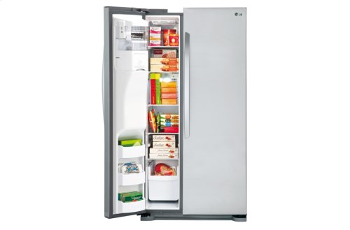 "22 cu. ft. Side-by-Side Refrigerator (33"" Width, Under 66"" Height)"