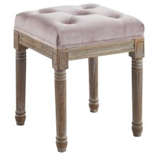 Colette Square Bench in Mauve