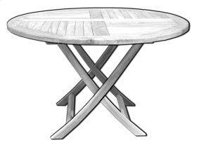 TEAK TABLE BASE
