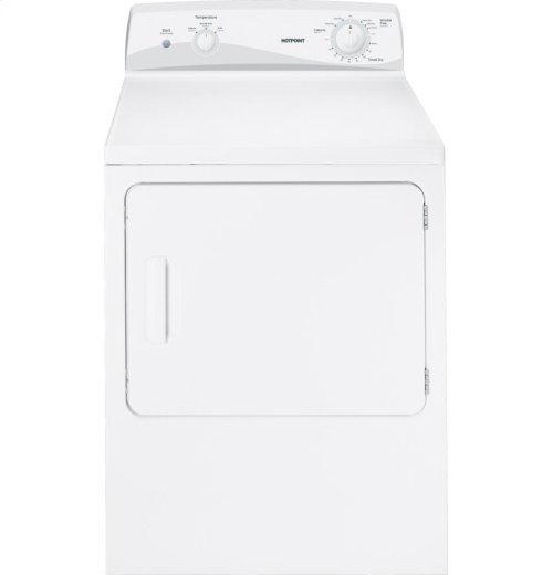 Hotpoint® 6.0 cu. ft. capacity DuraDrum gas dryer