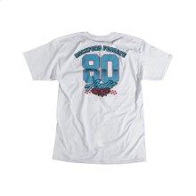 White T-Shirt w/ RF Race Graphic-M