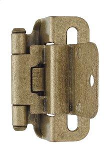 Self-closing, Partial Wrap 3/8in(10mm) Inset Hinge