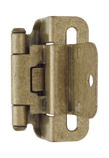 Self-closing, Partial Wrap 3/8in(10mm) Inset Hinge