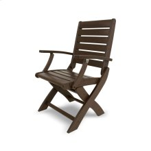 Mahogany Signature Folding Chair