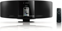 dock for iPhone/iPod Sleek micro music system