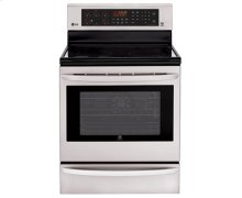 6.3 cu. ft. Capacity Single Oven Electric Range with Infrared Grill and EasyClean