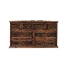 "65"" Dresser 8-Drawers Medio Finish"