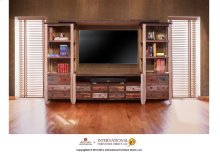 8 Drawer TV-Stand