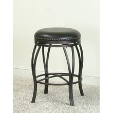 "CR-J3005  24"" Backless Swivel Counter Stool"