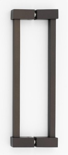 Contemporary II Back-to-Back Pull G718-8 - Chocolate Bronze