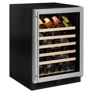 Marvel24-In Built-In Single Zone Wine Refrigerator with Door Swing - Right
