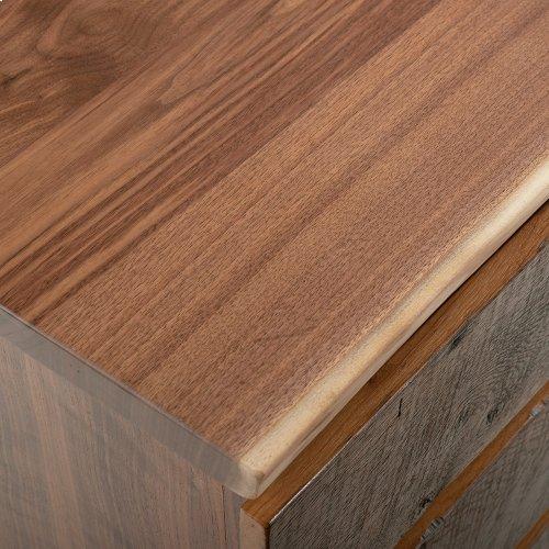 Hillsboro 3 Drawer Nightstand - (walnut Drawer Fronts)