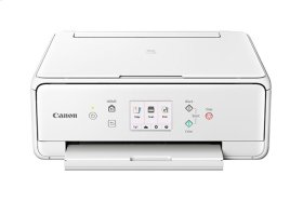 Canon PIXMA TS6020 White Wireless Wireless Inkjet All-in-One Printer