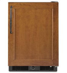5.7 Cu. Ft. 24'' Specialty Refrigerator, Right-Hand Door Swing, Overlay Panel-Ready - Black
