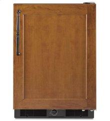 5.7 Cu. Ft. 24'' Specialty Refrigerator, Right-Hand Door Swing, Overlay Panel-Ready - Black