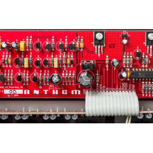 3-channel power amplifier; 225 watts per channel continuous power into 8 ohms.