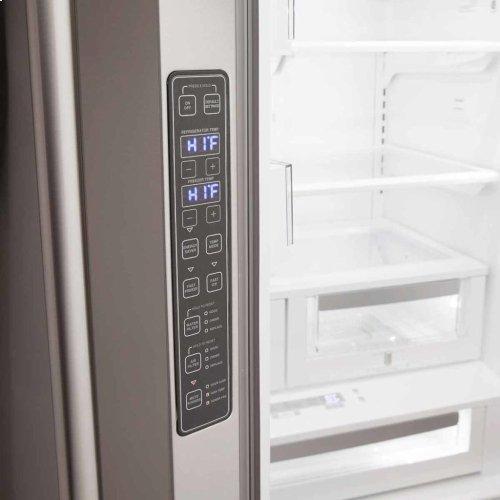 Elise French Door Counter-Depth Refrigerator - Elise French Door Counter-Depth Refrigerator - Gloss Black