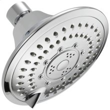 Chrome 5-Setting Raincan Shower Head