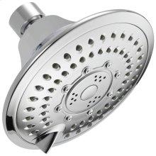 Chrome 5-Setting Raincan Shower Head