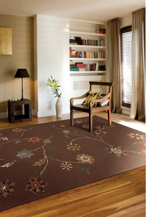 Contour Con05 Brn Rectangle Rug 7'3'' X 9'3''