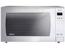Luxury Full-Size 2.2 Cu. Ft. Genius Countertop Microwave Oven with Inverter Technology, White