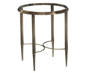 Sovereign Round Lamp Table