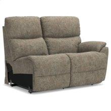 Trouper Power La-Z-Time® Left-Arm Sitting Reclining Loveseat w/ Power Headrest