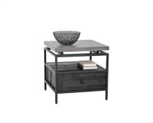 Norwood End Table - Black