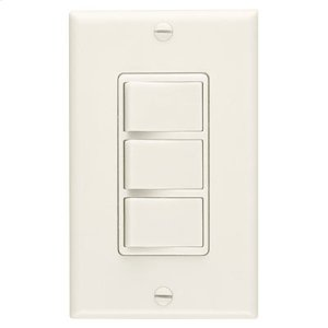 3-Function Control, 20 amp.,120V, Ivory