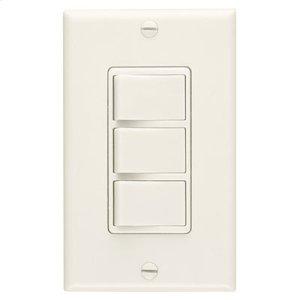 3-Function Control, 20 amp.,120V, Ivory