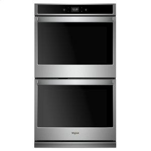 8.6 cu. ft. Smart Double Wall Oven with Touchscreen - STAINLESS STEEL