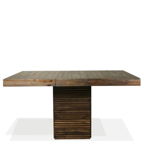 Modern Gatherings - Table Base - Brushed Acacia Finish