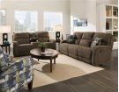 Double Reclining Sofa with Console and Power Headrest Product Image
